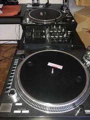 Serato DJ Set Plattenspieler Mixer