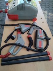 Dampfreiniger Ecovap mit verschiedenen Aufsätzen