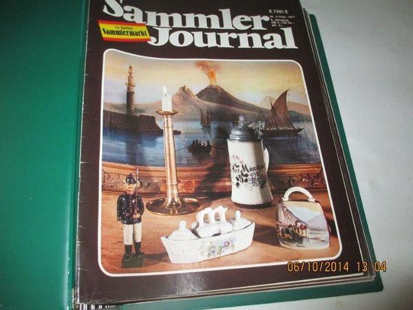 Sammler Journal vier Jahrgänge im