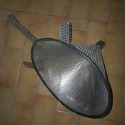 1 Trichter Lochtrichter Metall Maischetrichter