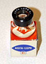 Agfa 8x Vergrößerungslupe