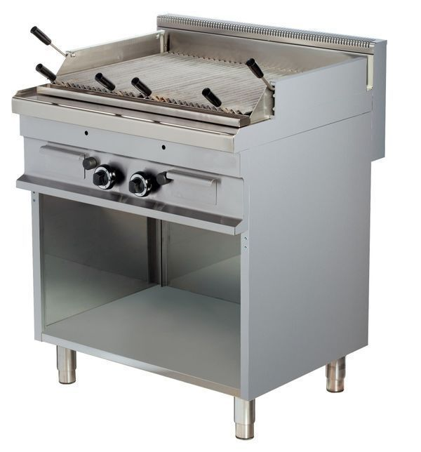 Lavasteingrill Gas Gasgrill Grill Gastronomie -