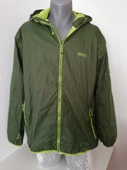 Outdoor Wind Regenjacke Oliv Gr