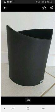 Blumenvase ASA Collection schwarz