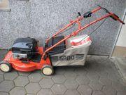 Starker Benzin-Rasenmäher Metall-Gehäuse 48 cm