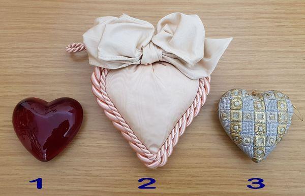 3 Herzen siehe Beschreibung und