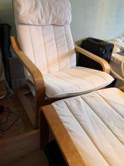 Poäng Sessel Stuhl Wellness Sitz