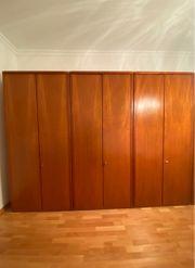 Kleiderschrank Massivholz - 3 Doppeltüren