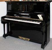 Klavier Schimmel 134 schwarz poliert