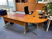 L-Schreibtisch 2 Stück Schreibtisch 1
