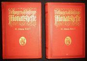 2 Bücher Velhagen Klasings Monatshefte