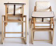 stabiler Kinderstuhl Kinderhochstuhl aus Holz