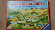 Deutschland Rallye ein Würfel Quiz