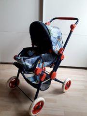 Kinder-Puppen-Wagen