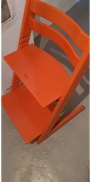 Stokke Hochstuhl orange