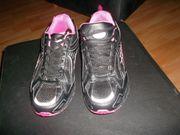 neue turnschuhe schwarz pink grösse