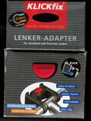 KLICKfix Lenkeradapter 22-26mm