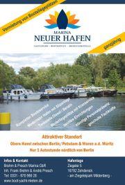Liegeplatz Boot Yacht Hausboot