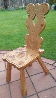 Stühle aus Zirbenholz aus südtiroler
