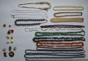 Halsketten Ohrringe Broschen