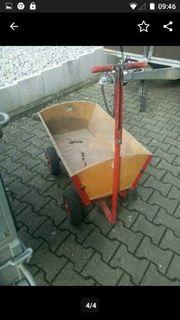 Bollerwagen voll funktionsfähig und einsatzbereit
