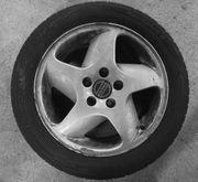 neuwertige Reifen mit Alufelgen - Volvo