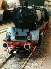 Dampflok mit Schlepptender KM1- Baureihe