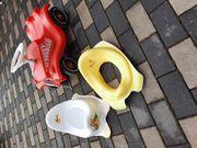 Bobbycar Töpfchen und Toilettensitz