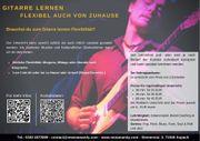 Professionellen Gitarrenunterricht - Flexibel auch von