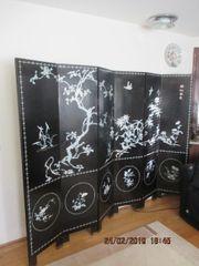 Chinesischer Raumteiler Paravent 2 40