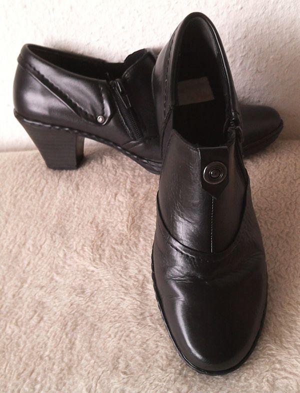 best sneakers d6e50 c1548 RIEKER Damen Leder Stiefeletten Gr.: 39. SEHR GUTE ZUSTAND ...