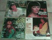 Schallplatten Single Mireille Mathieu Katja