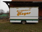 Bäckerei-Verkaufswagen-Anhänger