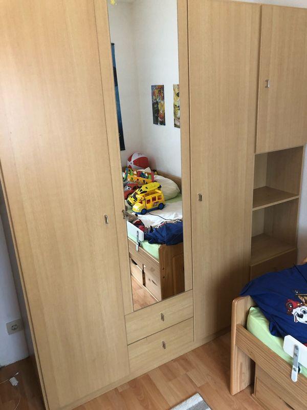 Kleiderschrank Buche Jugendzimmer Extra Passend