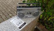Stereo Radio Kofferradio mit Kassette