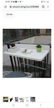 Balkonhängetisch NEU 80 cm x