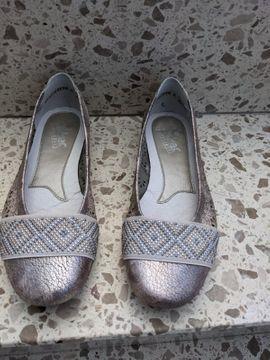 Schuhe, Stiefel - Damenschuhe Slipper Rieker Gr 3