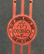 Oxelo Classic Longboard Red Limited