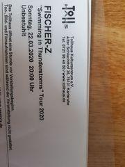 1 x Fischer-Z Konzert Karte