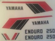 Yamaha DT Enduro Aufkleber Set