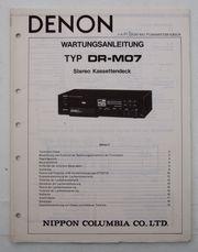 Denon DR-M07 Stereo Kassetten Deck