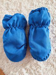Baby Fäustlinge Gr 62-92 Blau