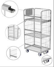 Gitter Rollcontainer Behälter für Wäschelogistik