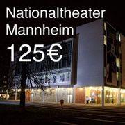 125 EUR Nationaltheater Mannheim Gutschein