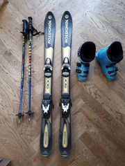 Kinder-Skiset Ski 110 cm Schuhe