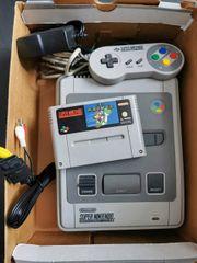 Super Nintendo Set SNES mit