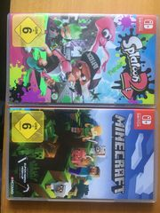 Nintendo Switch Splatoon 2 und
