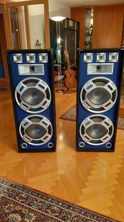 Lautsprecher-Boxen 1000 W beleuchtet