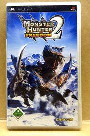 PSP Sony Monster Hunter Freedom
