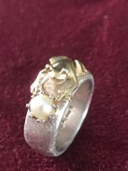 Original Drachenfels Froschkönig Ring